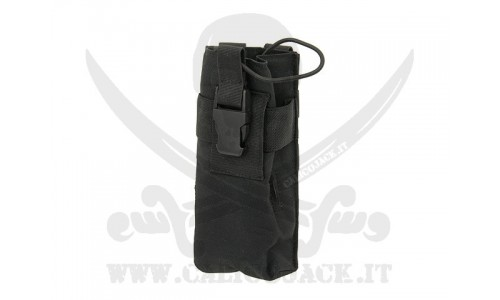 RADIO POUCH BIG BLACK