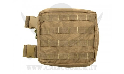 LEG LINEAR UTILITY POUCH COYOTE