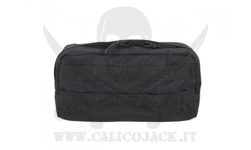 UTILITY POUCH LONG BLACK
