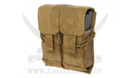 DOUBLE POUCH FOR M4/M16/AK-74 DE