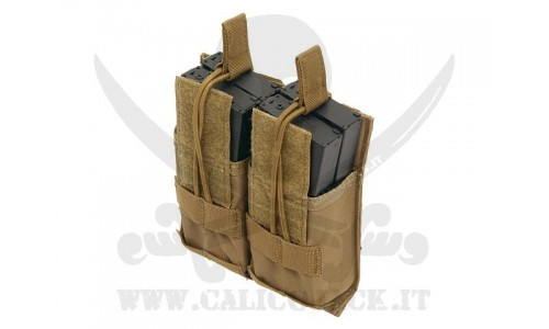 DOUBLE POUCH FOR M4/M16/AK-74 COYOTE
