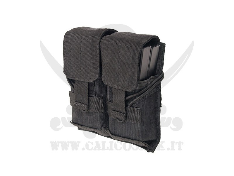 DOUBLE POUCH FOR M4/M16/AK-74 BLACK