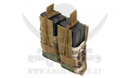 DOUBLE POUCH FOR M4/M16/AK-74 MULTICAM