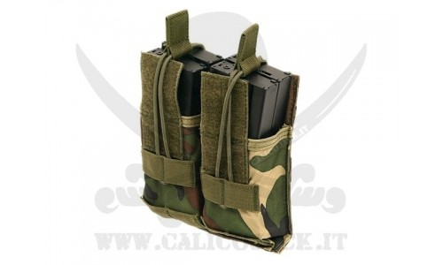 DOUBLE POUCH FOR M4/M16/AK-74 WOOD