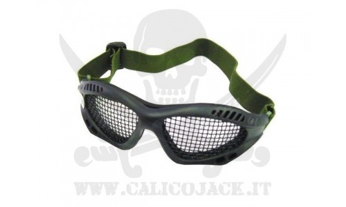 GLASSES WITH NET BK