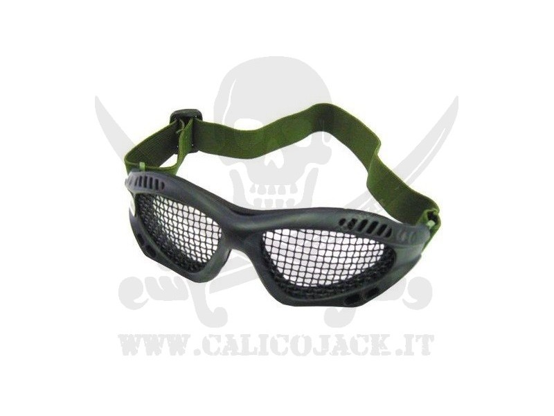 GLASSES WITH NET BLACK