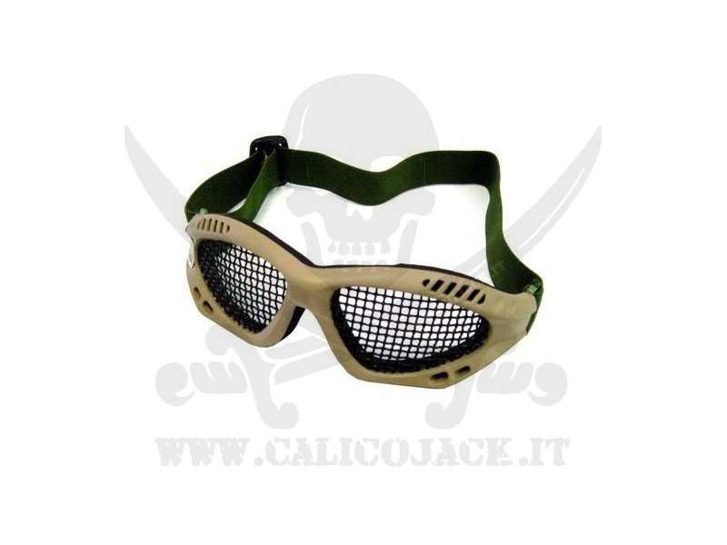 GLASSES WITH NET TAN