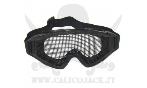 GLASSES WITH NET V2 BLACK