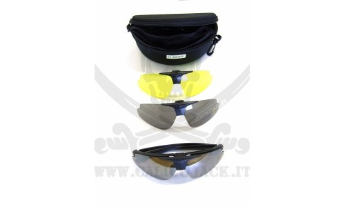 KIT + WITH VISUAL LENS SUPPORT BLACK