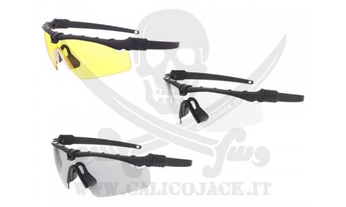 M-FRAME 3.0 TYPE BLACK - YELLOW LENS