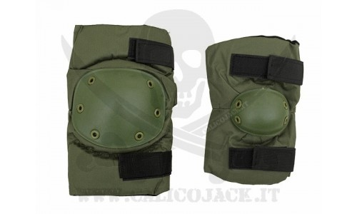 KNEE AND ELBOW PADS SET 2.0 GREEN
