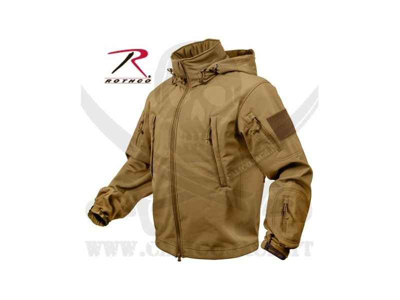 ROTHCO SOFT SHELL JACKET COYOTE