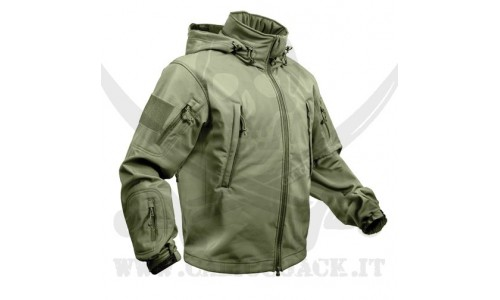 ROTHCO SOFT SHELL JACKET GREEN