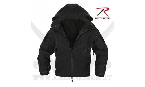 ROTHCO SOFT SHELL JACKET BLACK