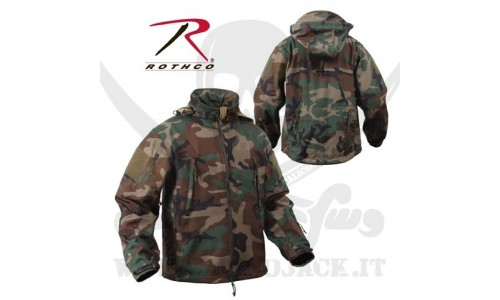 ROTHCO SOFT SHELL JACKET WOOD