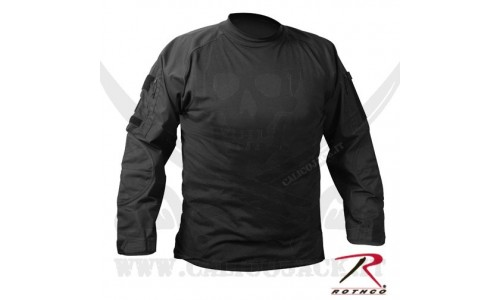 COMBAT SHIRTS USA BLACK