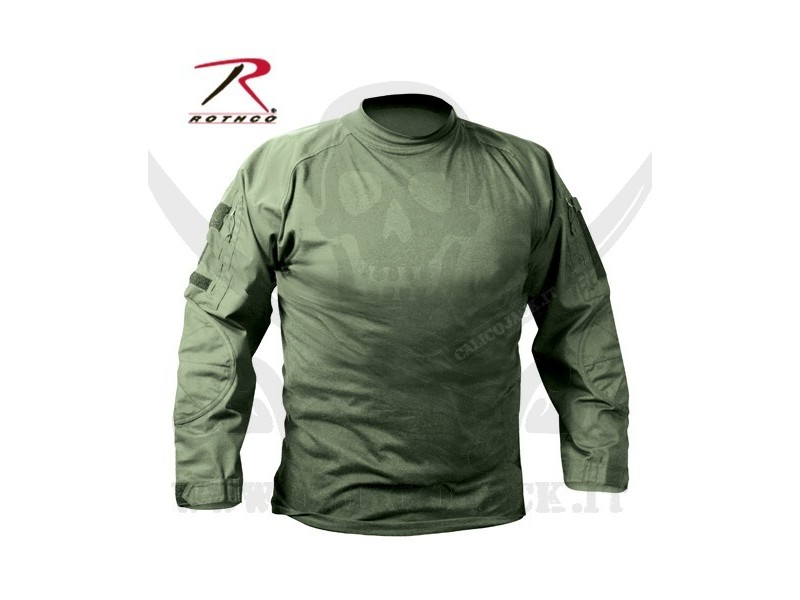 COMBAT SHIRTS USA GREEN