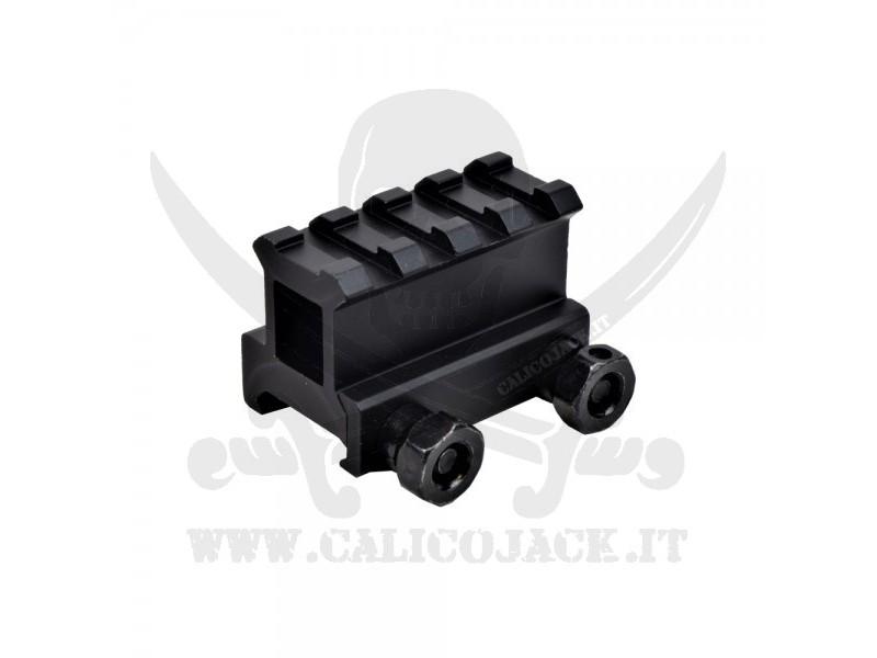 FLAT TOP RAIL MOUNT 2,5CM (RT4)