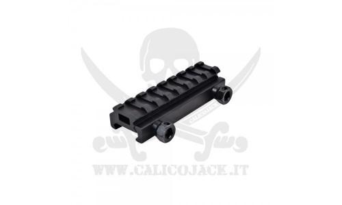 FLAT TOP RAIL MOUNT 1CM (S18)