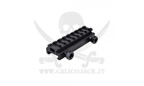 FLAT TOP RAIL MOUNT 1CM (S18)