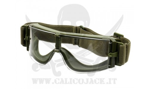 X800 TYPE GREEN TRANSPARENT LENS