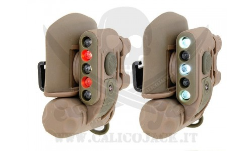 COMPACT HELMET LIGHT COYOTE