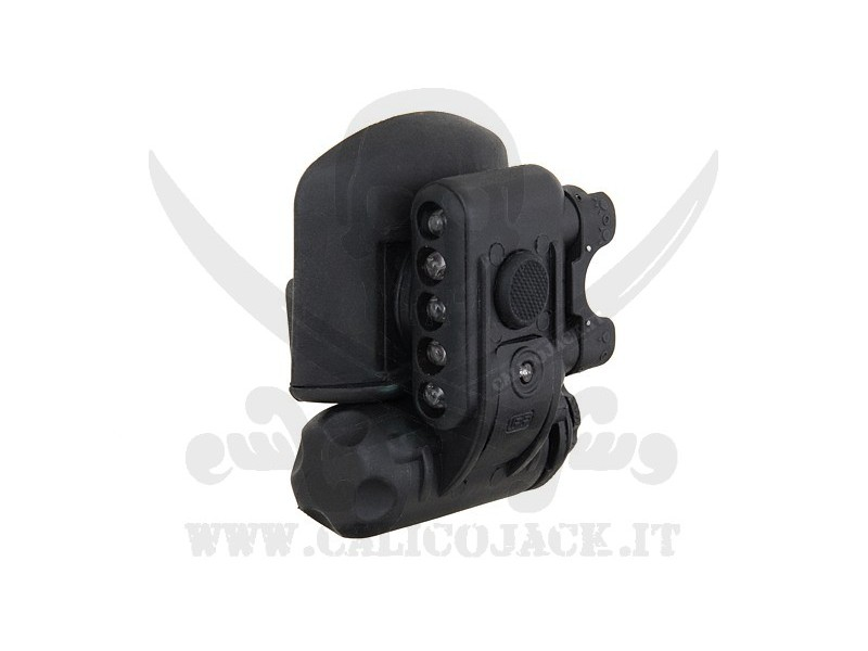 COMPACT HELMET LIGHT BLACK