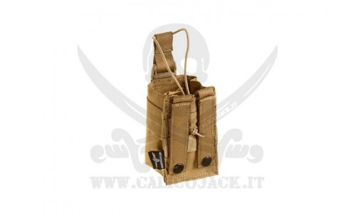INVADER RADIO POUCH COYOTE