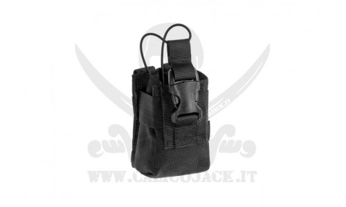 INVADER RADIO POUCH BLACK