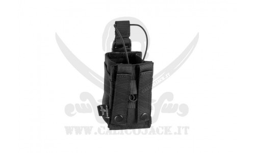 INVADER PORTA RADIO BLACK