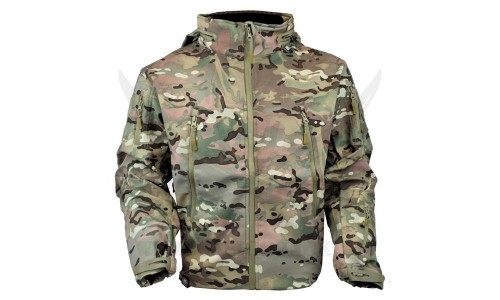 SOFT SHELL SHARK SKIN MULTICAM