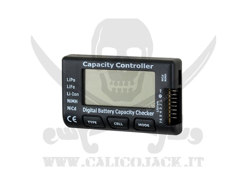 TESTER CELL METER - CAPACITY CONTROLLER
