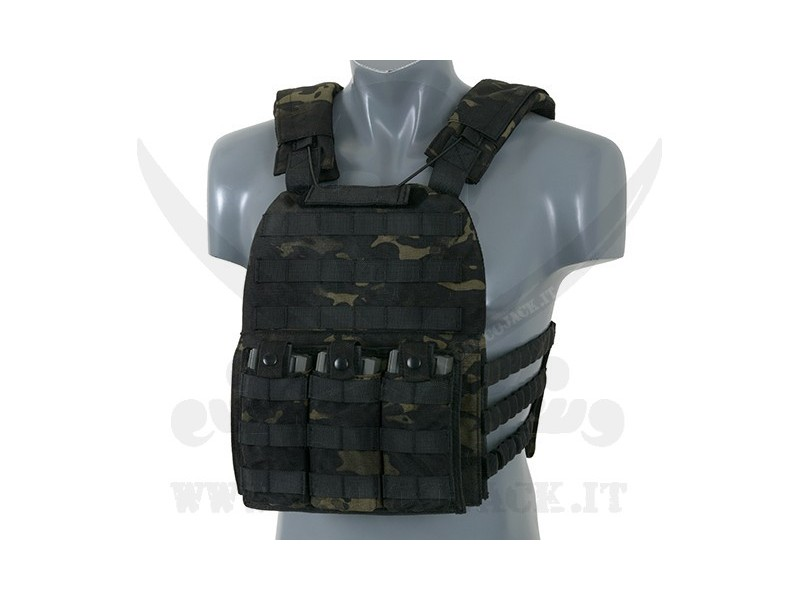 DEFENSE PLATE CARRIER MULTICAM BLACK
