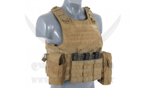 TATTICO AAV FSBE ASSAULT VEST V2 COYOTE
