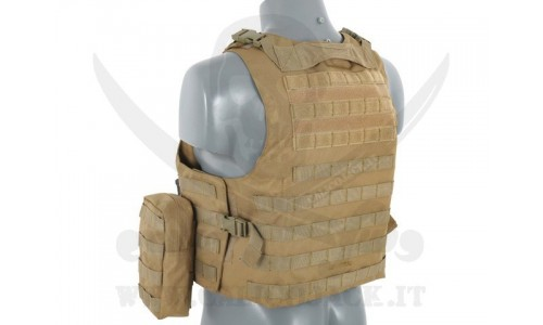 AAV FSBE ASSAULT VEST V2 COYOTE