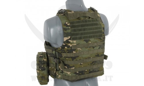 AAV FSBE ASSAULT VEST V2 MULTICAM TROPIC