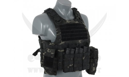 AAV FSBE ASSAULT VEST V2 MULTICAM BLACK