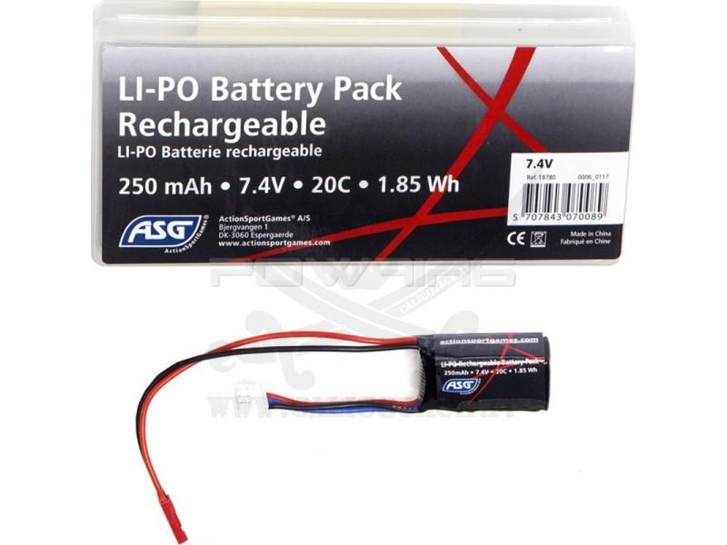 Li-Po 7.4V FOR HPA