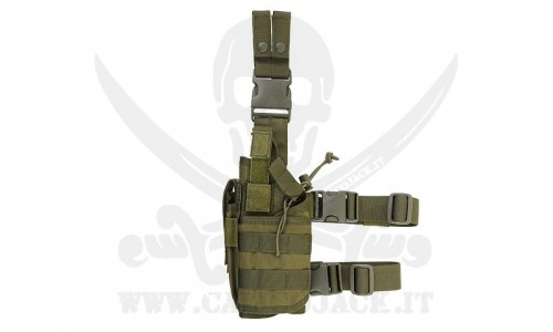 LEFT-HANDED HOLSTER GREEN