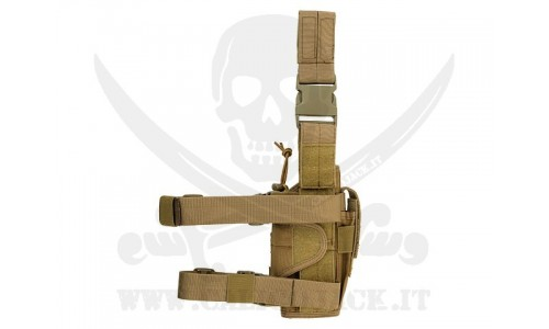 LEFT-HANDED HOLSTER COYOTE