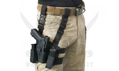 HOLSTER W/DROP GLOCK COYOTE