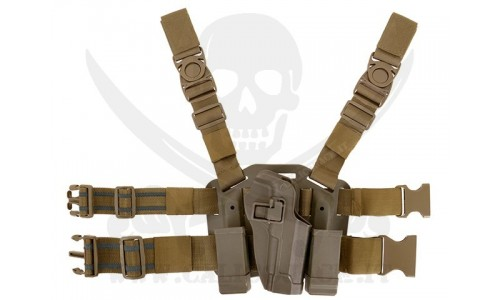HOLSTER W/DROP M9/M92 COYOTE