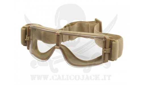 X800 TYPE TAN TRANSPARENT LENS