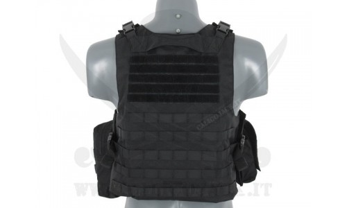 AAV FSBE ASSAULT VEST V2 BLACK