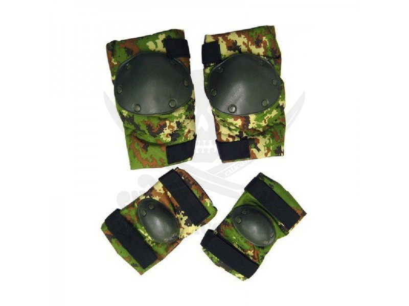 KNEE AND ELBOW PADS SET 2.0 VEGE