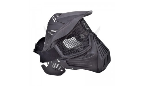 MASK WITH NET BLACK