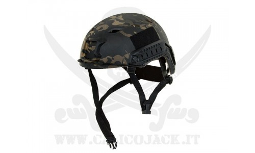 FAST BJ HELMET ADJUSTMENT MULTICAM BLACK