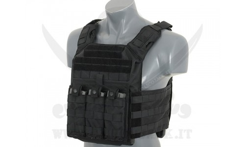 FIRST RESPONDER PLATE CARRIER BK