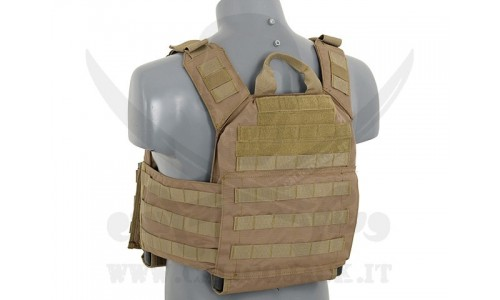 FIRST RESPONDER PLATE CARRIER TAN