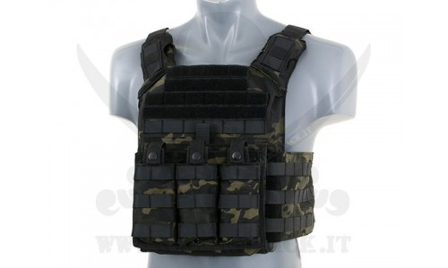 FIRST RESPONDER PLATE MULTICAM-BK